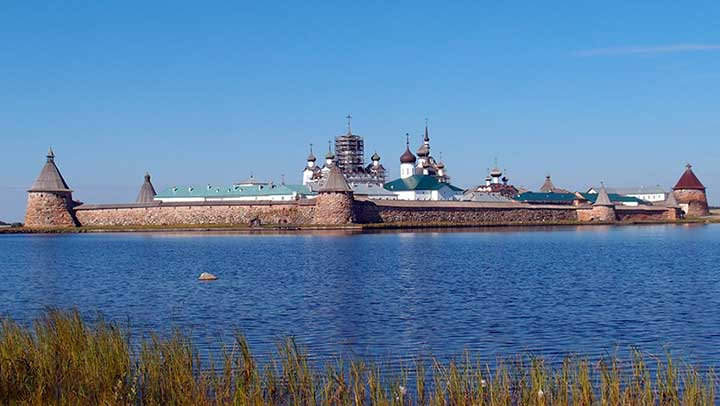 boat excursion big zayatsky island andreevsky monastery labyrinth karelia russia solovki archipelago solovetsky islands kola travel