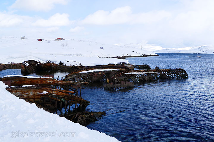 excursion barents sea kola peninsula teriberka murmansk region russia