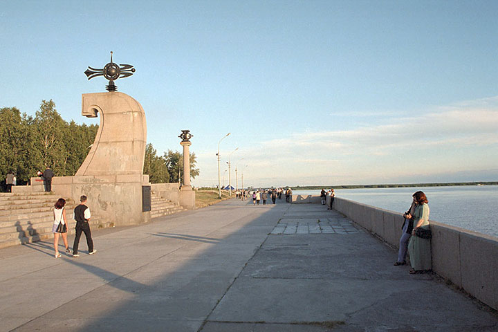 arkhangelsk city excursions dvina river museums russia