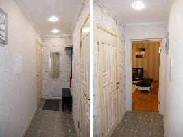 Apartment for short or long term rent in Monchegorsk in Murmansk region on on Kola Peninsula